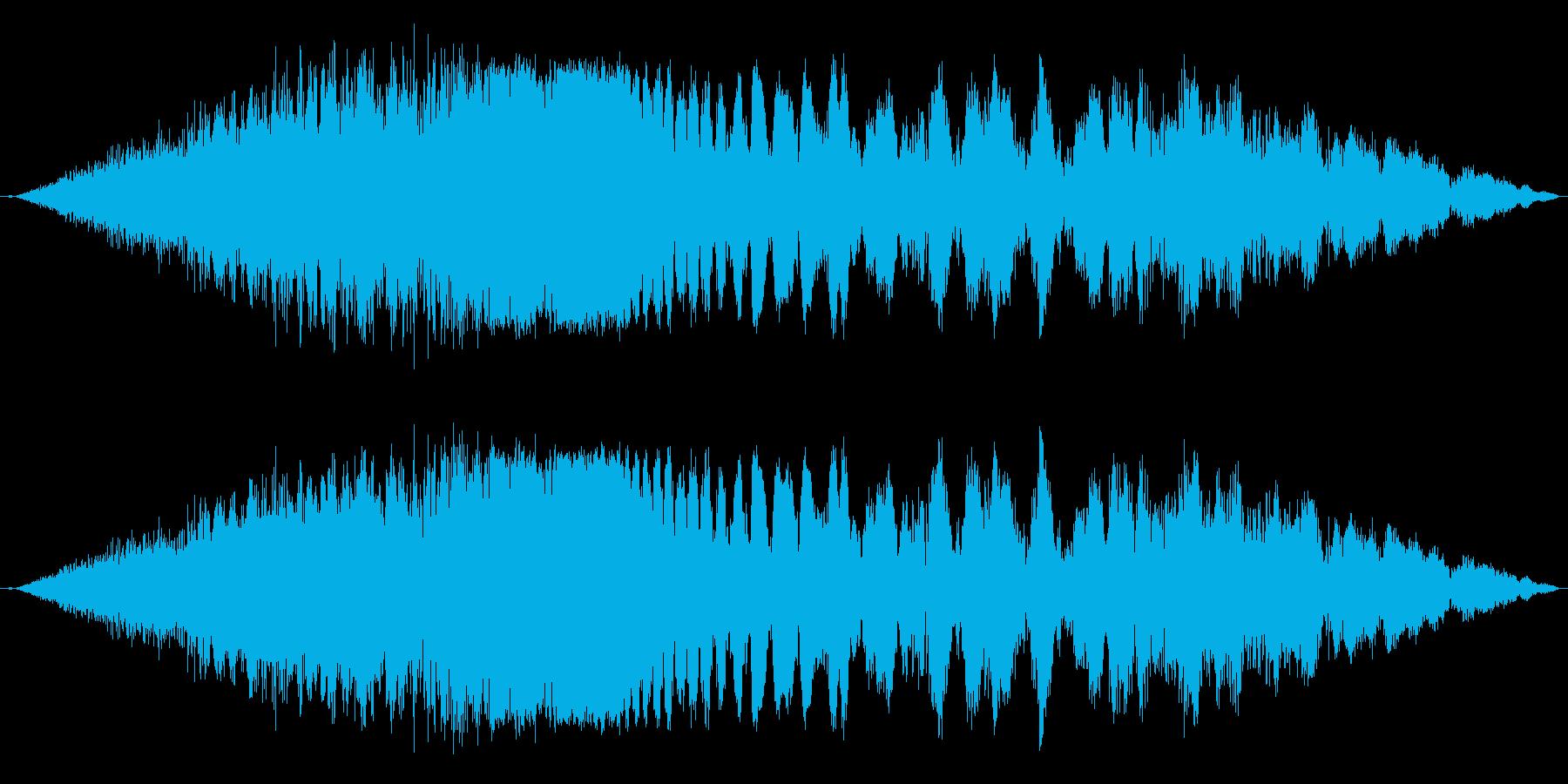 【F1】超ド迫力のF1エンジン効果音3!の再生済みの波形