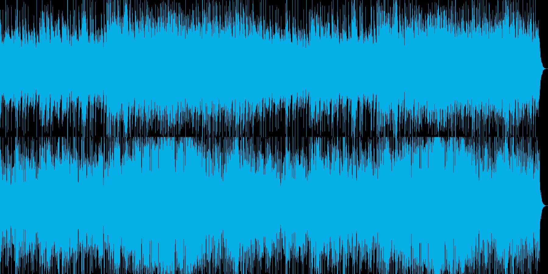 眠りを誘うオルゴールの再生済みの波形