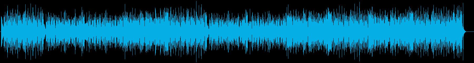 ルンルン気分になるキュートポップの再生済みの波形