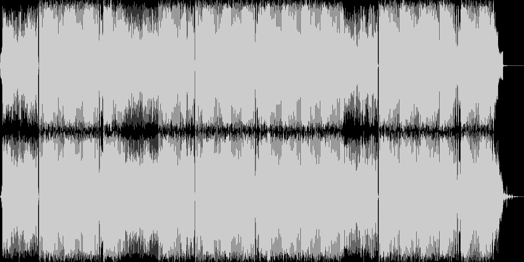 爽やかなBGMの未再生の波形