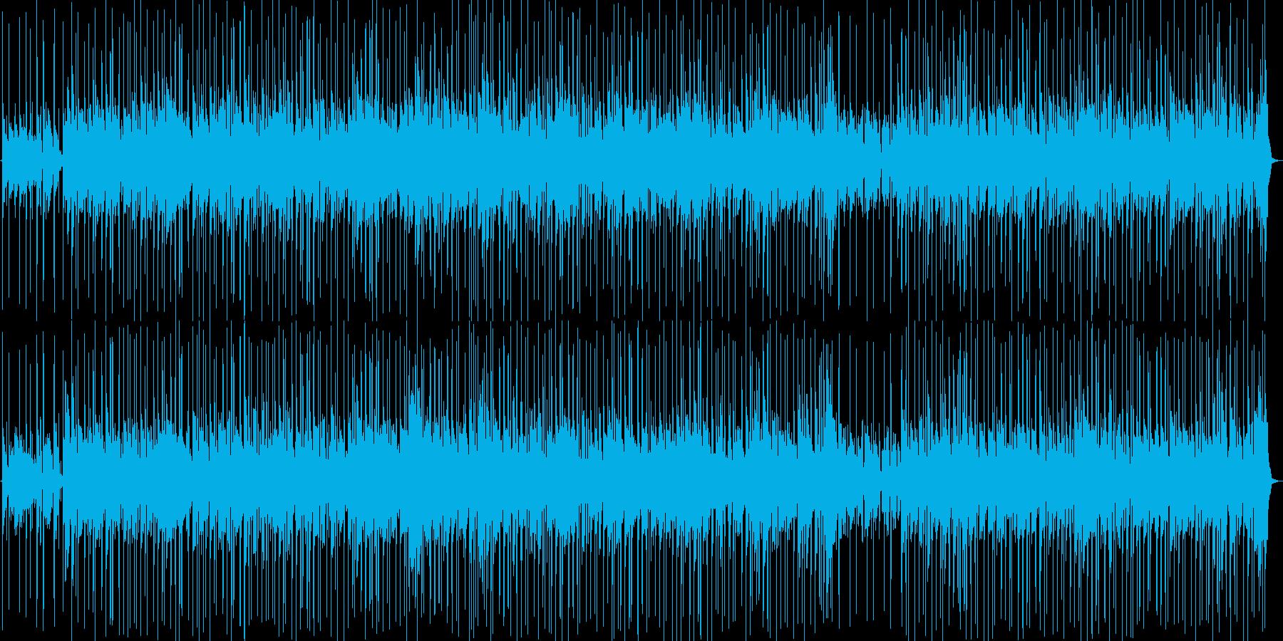 ほのぼのしたちょっと切ないポップスの再生済みの波形