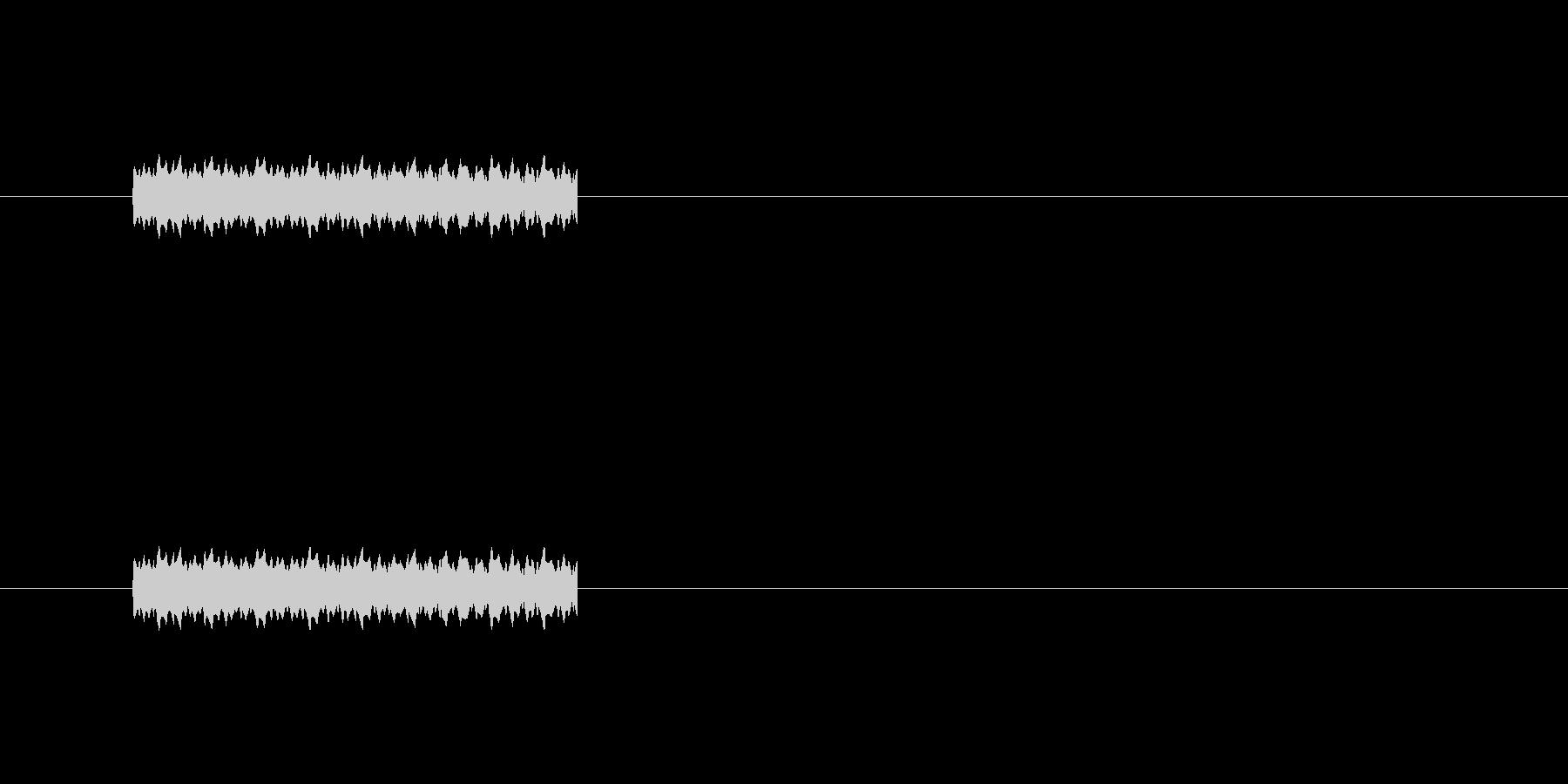 ポップ通知の未再生の波形