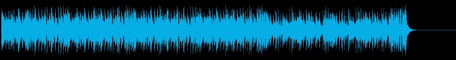 リラックスなフュージョン(イントロ~…)の再生済みの波形