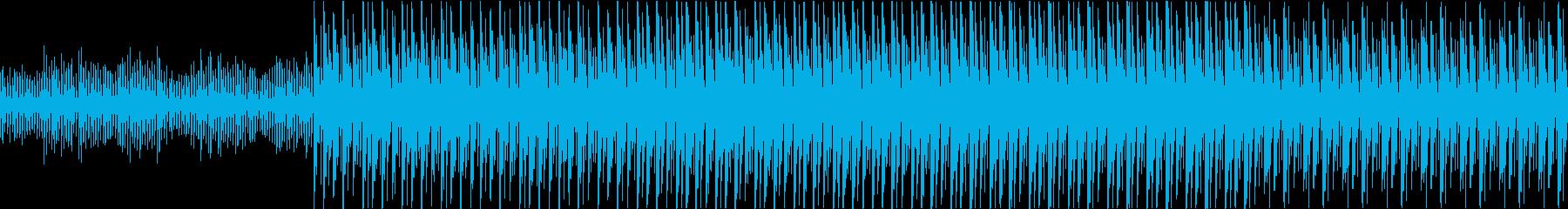 ニュース 報道 事件  迷走 迷路ループの再生済みの波形