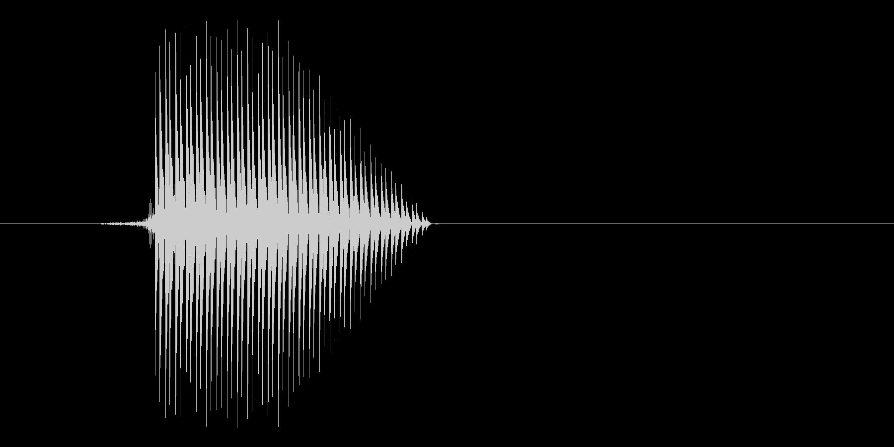ゲーム(ファミコン風)セレクト音_013の未再生の波形
