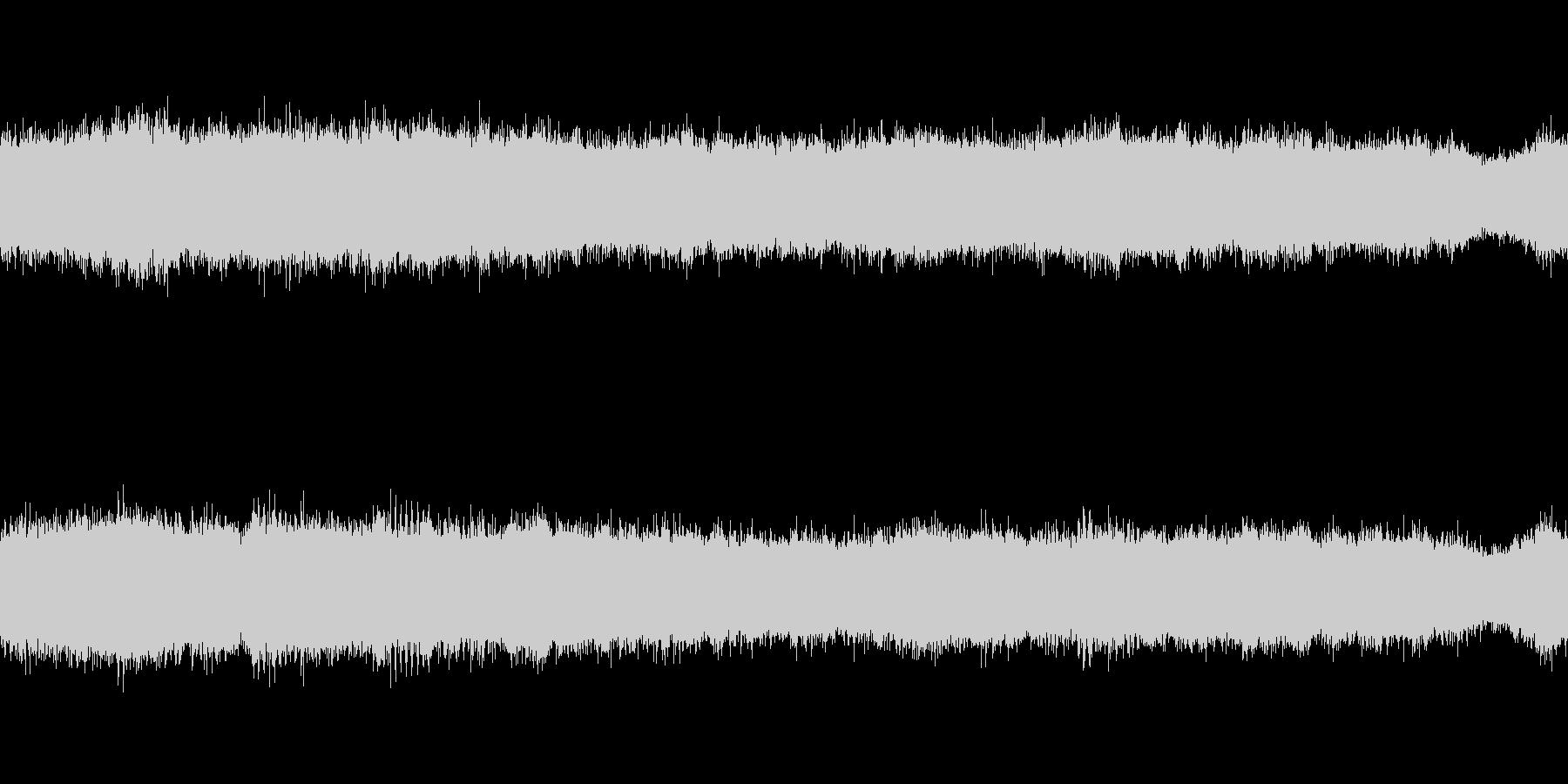 環境音蝉の鳴き声ミンミン1分ループ処理の未再生の波形