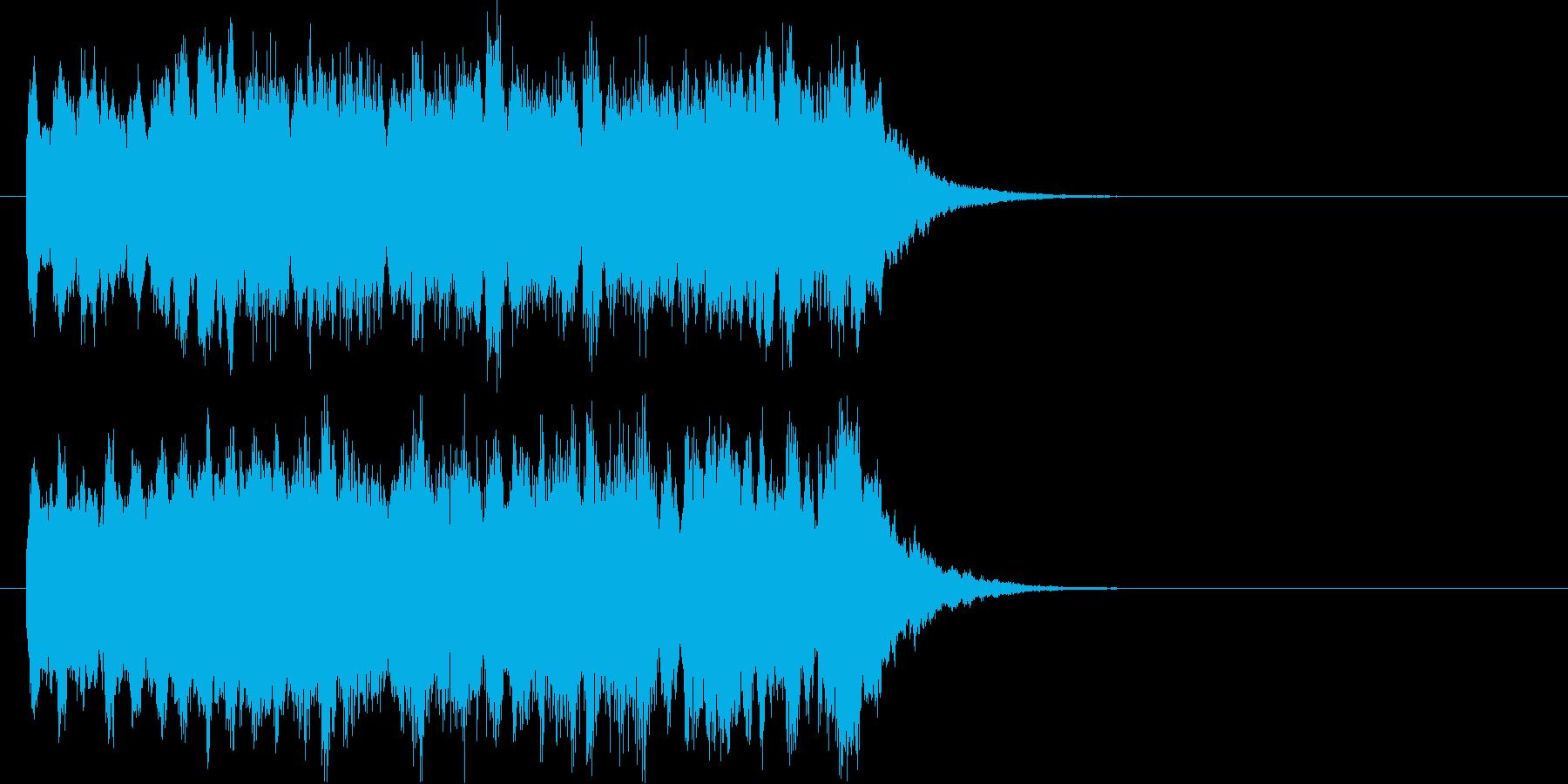 駅の発車メロディのイメージの再生済みの波形