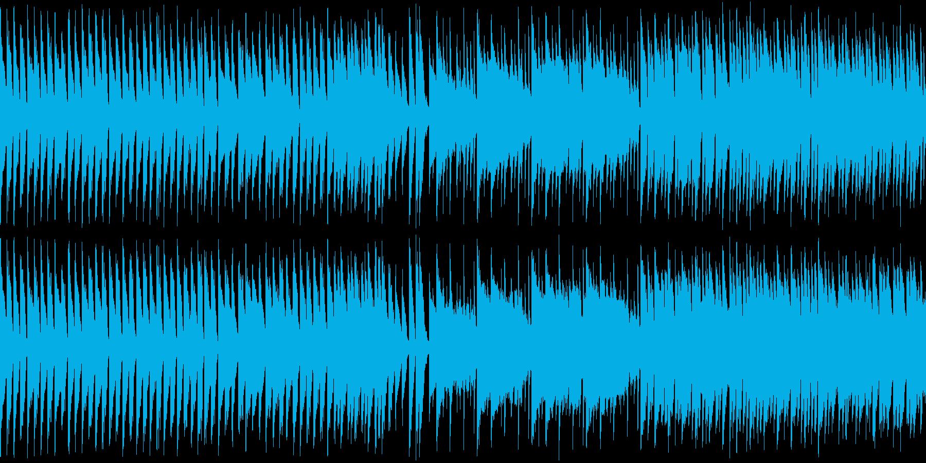 カンフー・中華風チップチューンの再生済みの波形