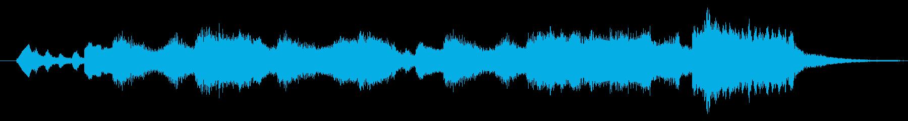 優雅なワルツを12秒のサウンドロゴでの再生済みの波形