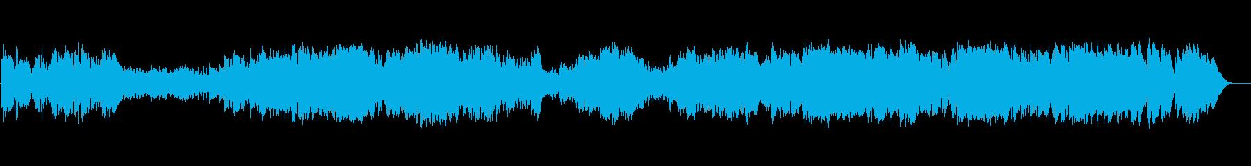 バッハ プレリュード クラシックギターの再生済みの波形
