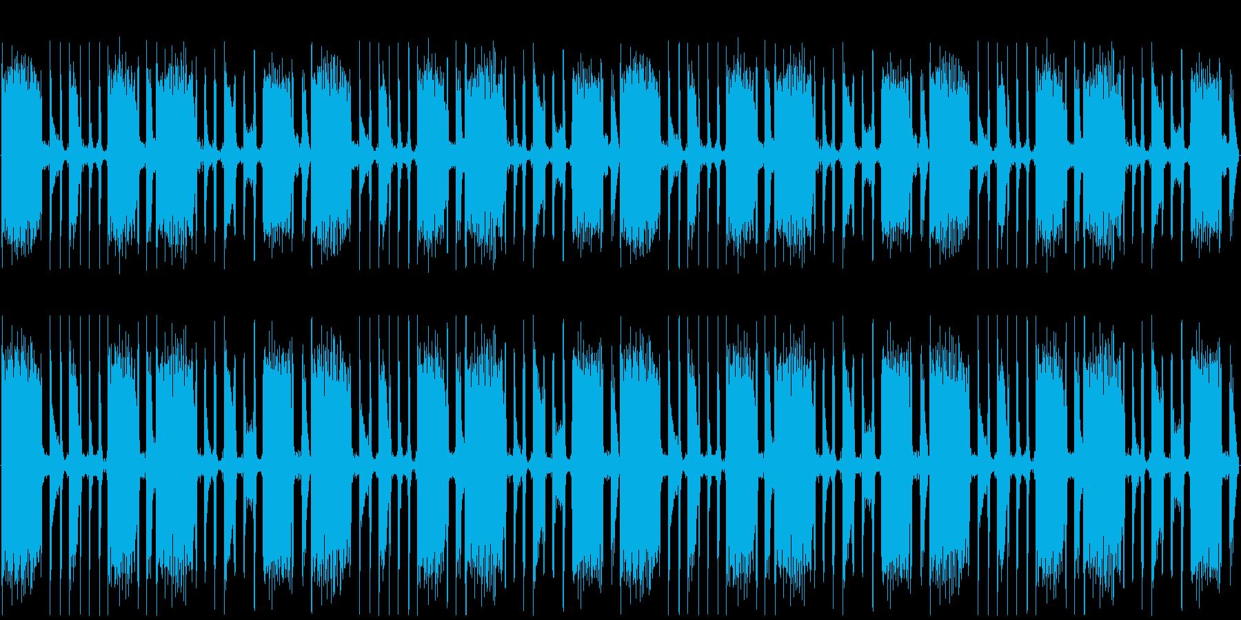 【軽快/ギター/カッティング/ポップス】の再生済みの波形