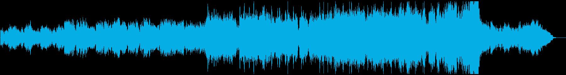 オーケストラ企業PV 前半静寂後半勇士の再生済みの波形