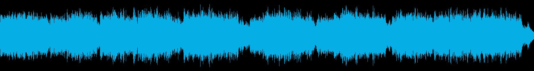 桜をイメージした切ない曲[ループ用]の再生済みの波形
