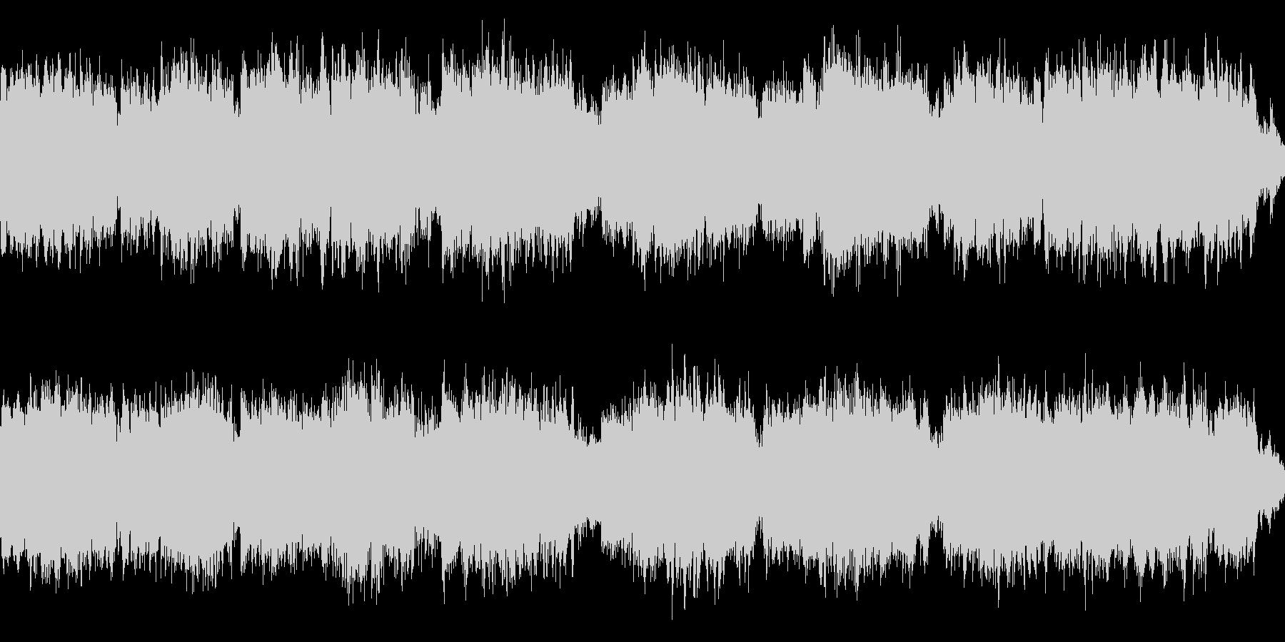 桜をイメージした切ない曲[ループ用]の未再生の波形