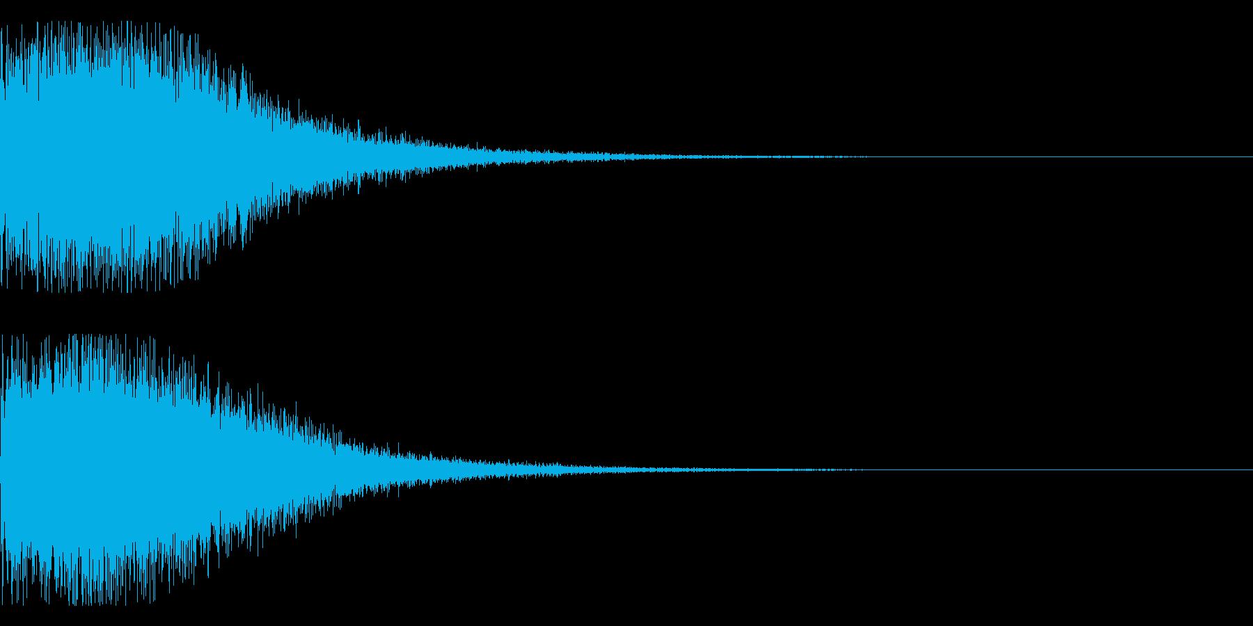 ゲームオーバー、クラッシュの再生済みの波形