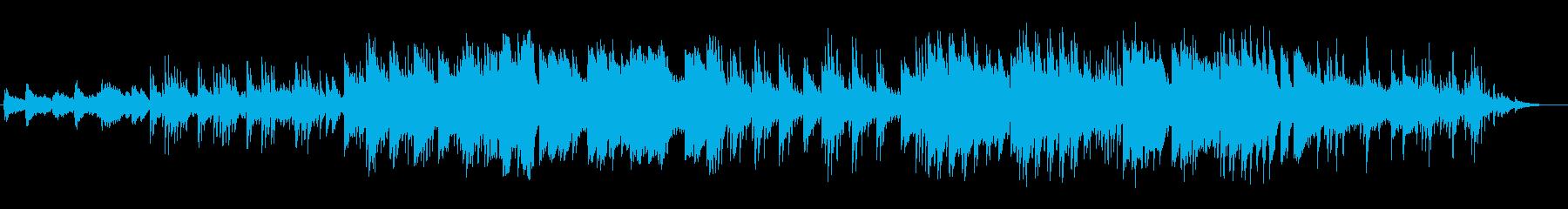 儚げなメロディのファンタジー的なバラードの再生済みの波形