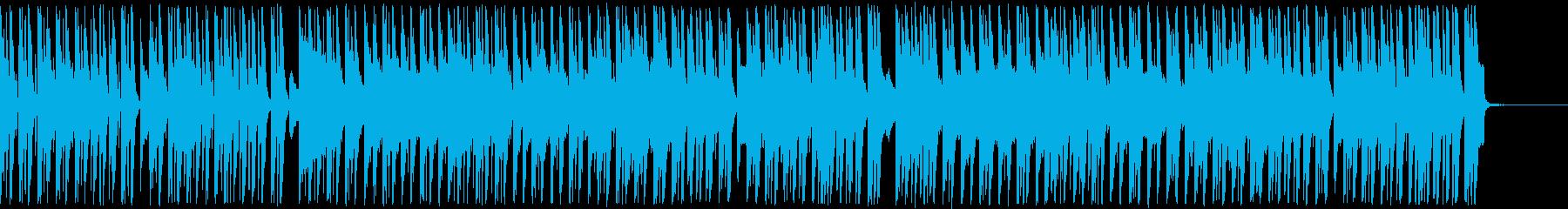 ほのぼのゆったりしたコミカルアンサンブルの再生済みの波形