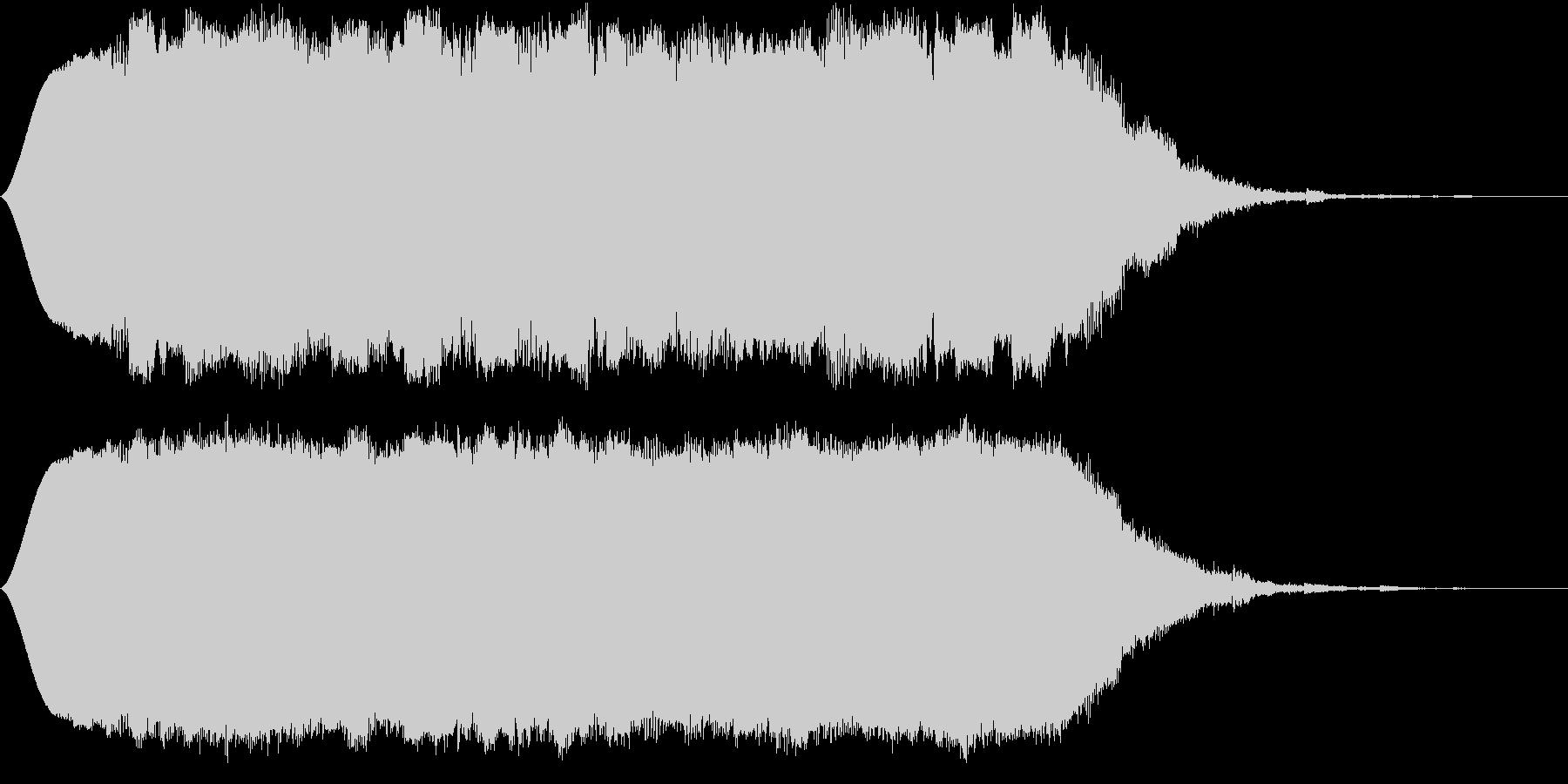 SFな昔のコンピューターの考え中の音の未再生の波形
