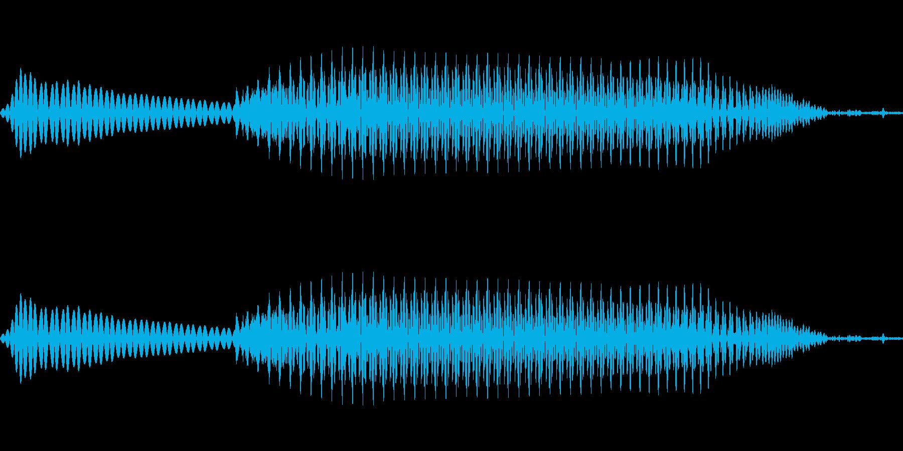 due(2) ドゥ フランス語 女性の再生済みの波形