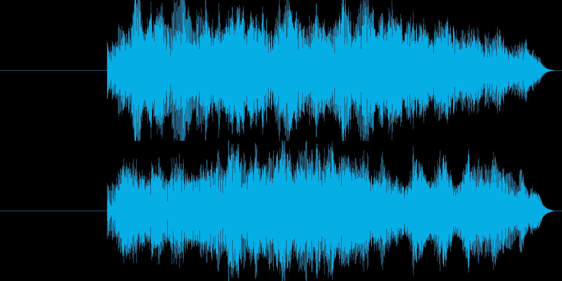光線銃・ビーム(SF)の再生済みの波形