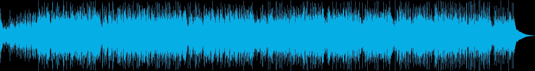 アコギの音色が耳に優しいフォークロックの再生済みの波形
