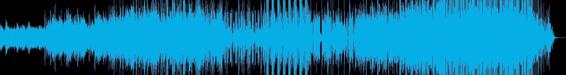 アジア系音楽ーChinese teaの再生済みの波形
