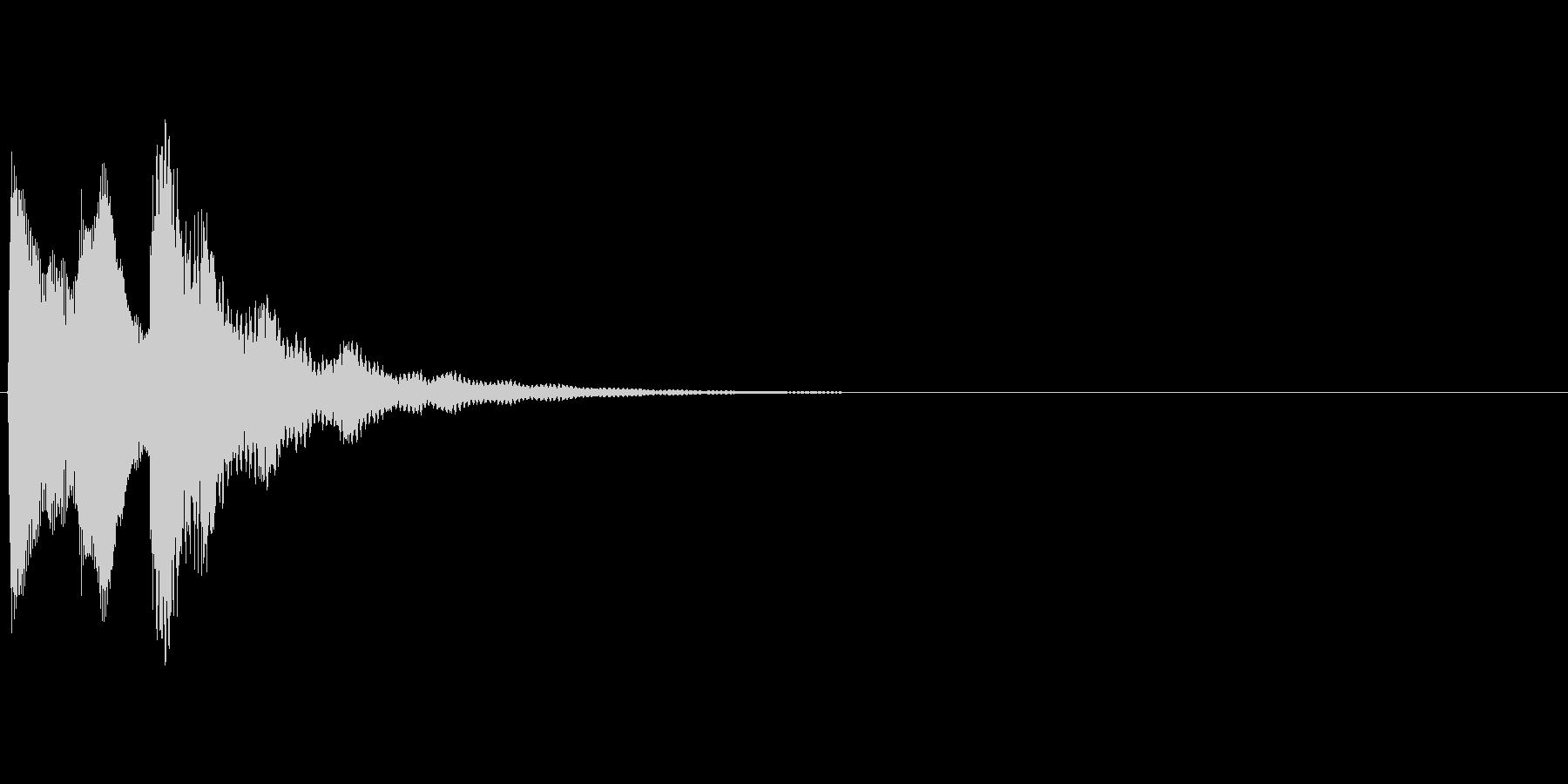 タラ↓ラン↑(電車、発車メロディー)の未再生の波形