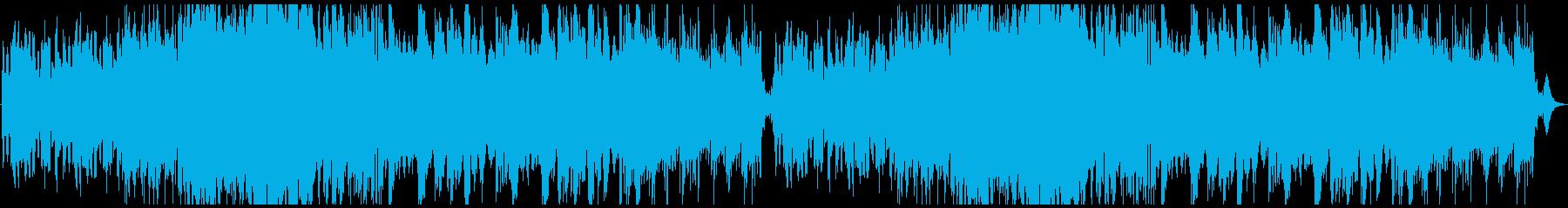 楽しいケルト曲の再生済みの波形