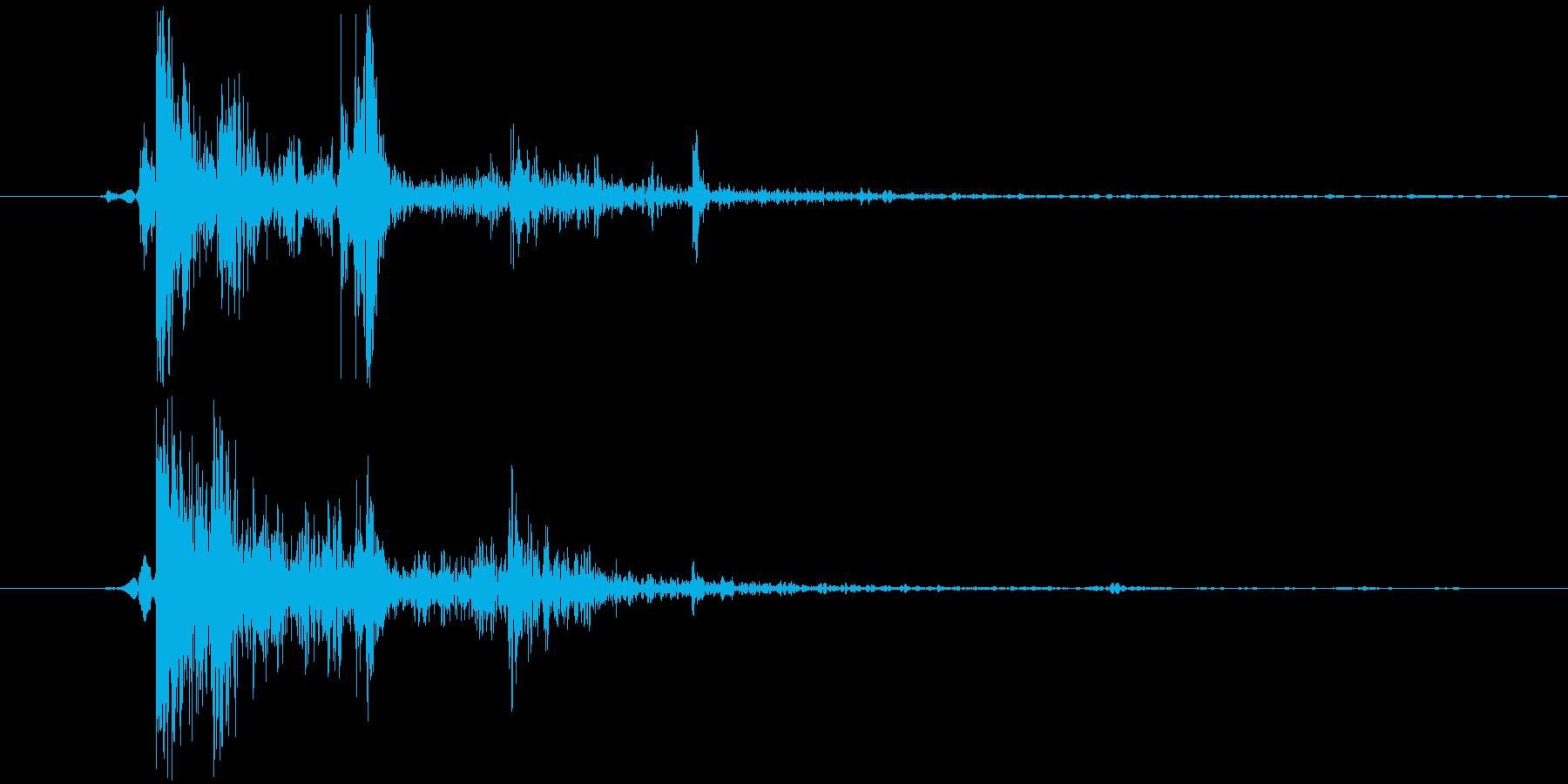 【銃/サバゲー/FPS/AK/ドン】の再生済みの波形