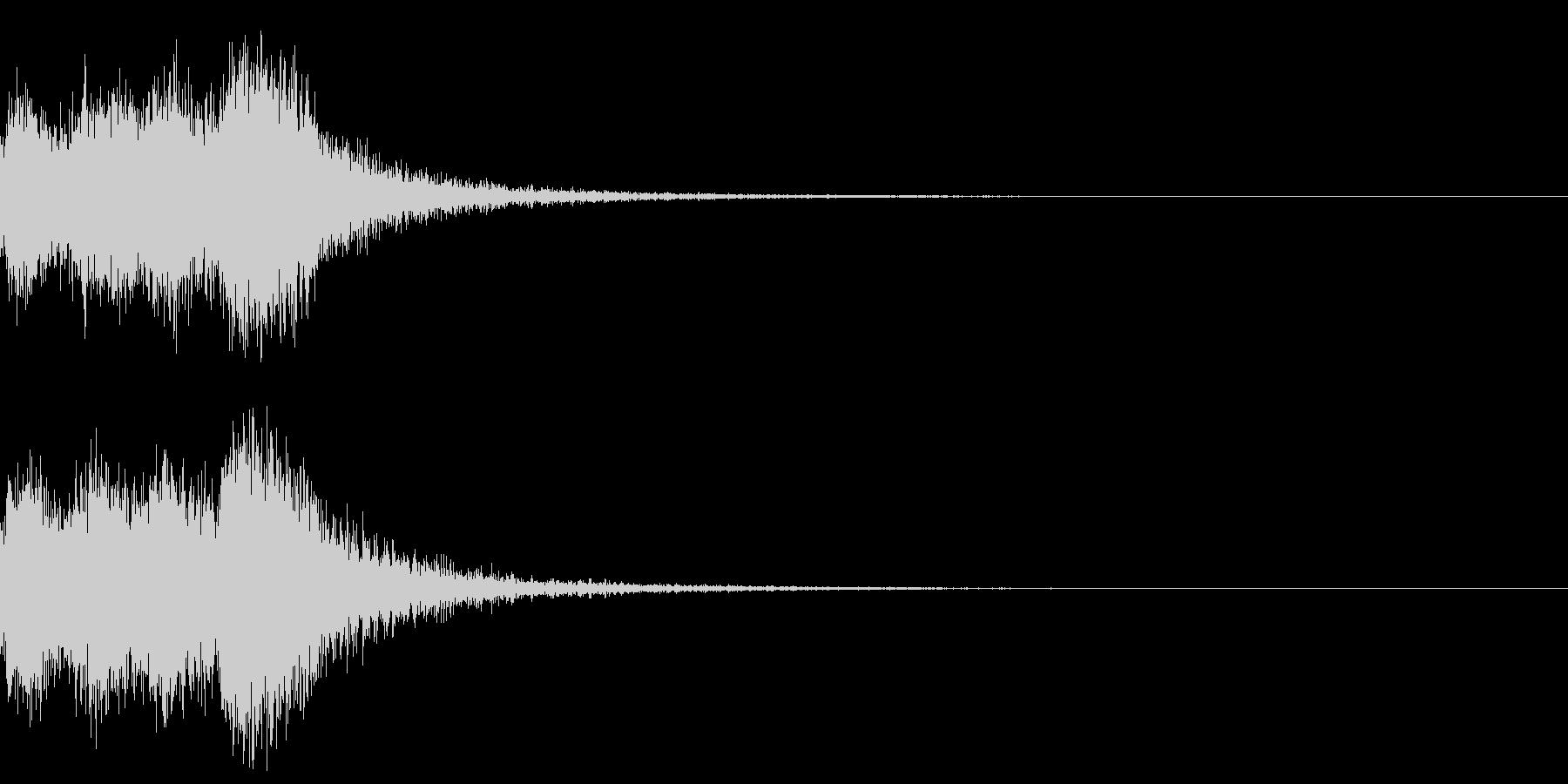 オーケストラヒット ジングル! 03の未再生の波形
