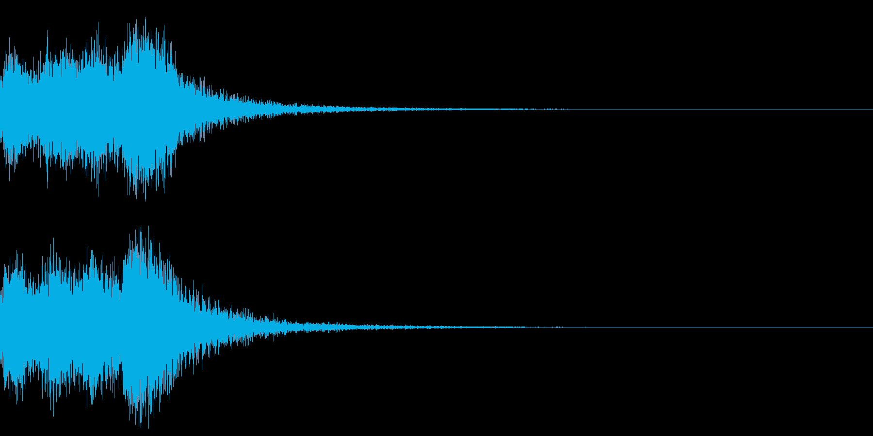 オーケストラヒット ジングル! 03の再生済みの波形