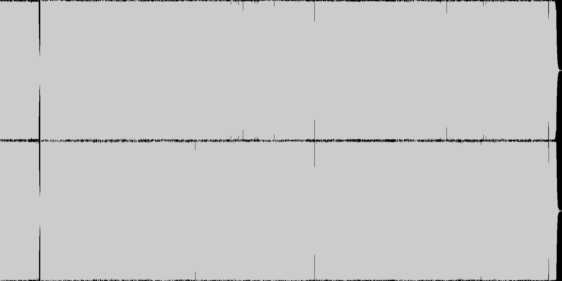 メロスピ メロディアスなスピードメタルの未再生の波形