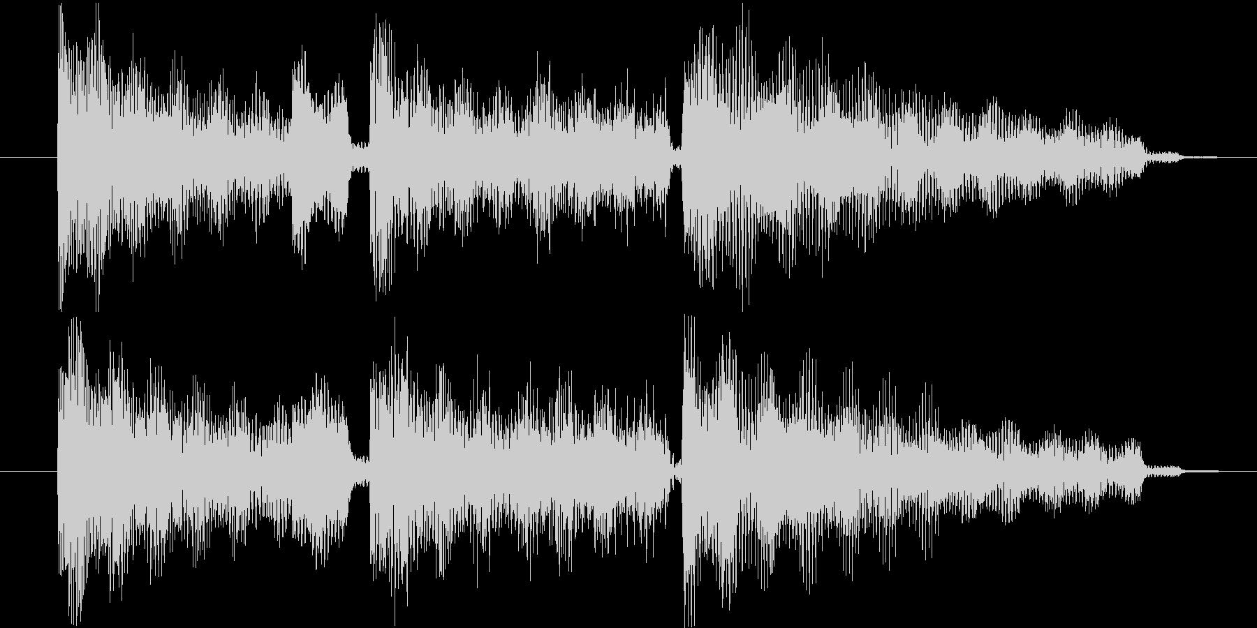 エレピ音源の未再生の波形