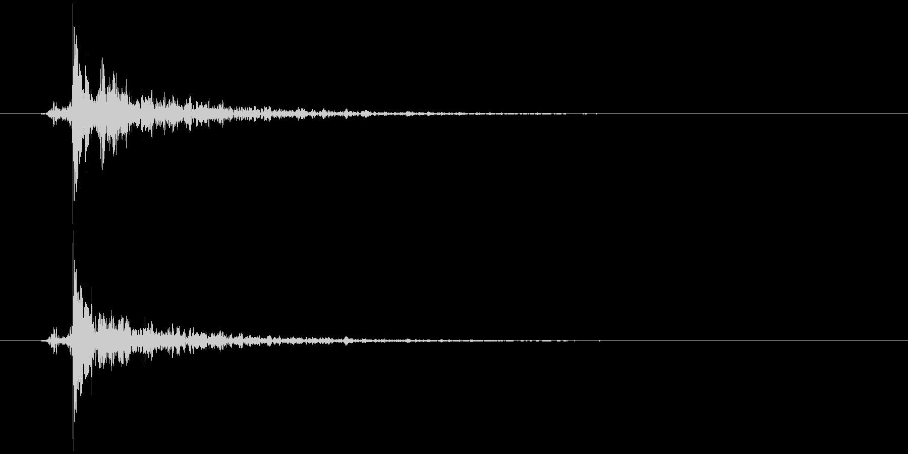 指パッチン(フィンガースナップE)生音2の未再生の波形