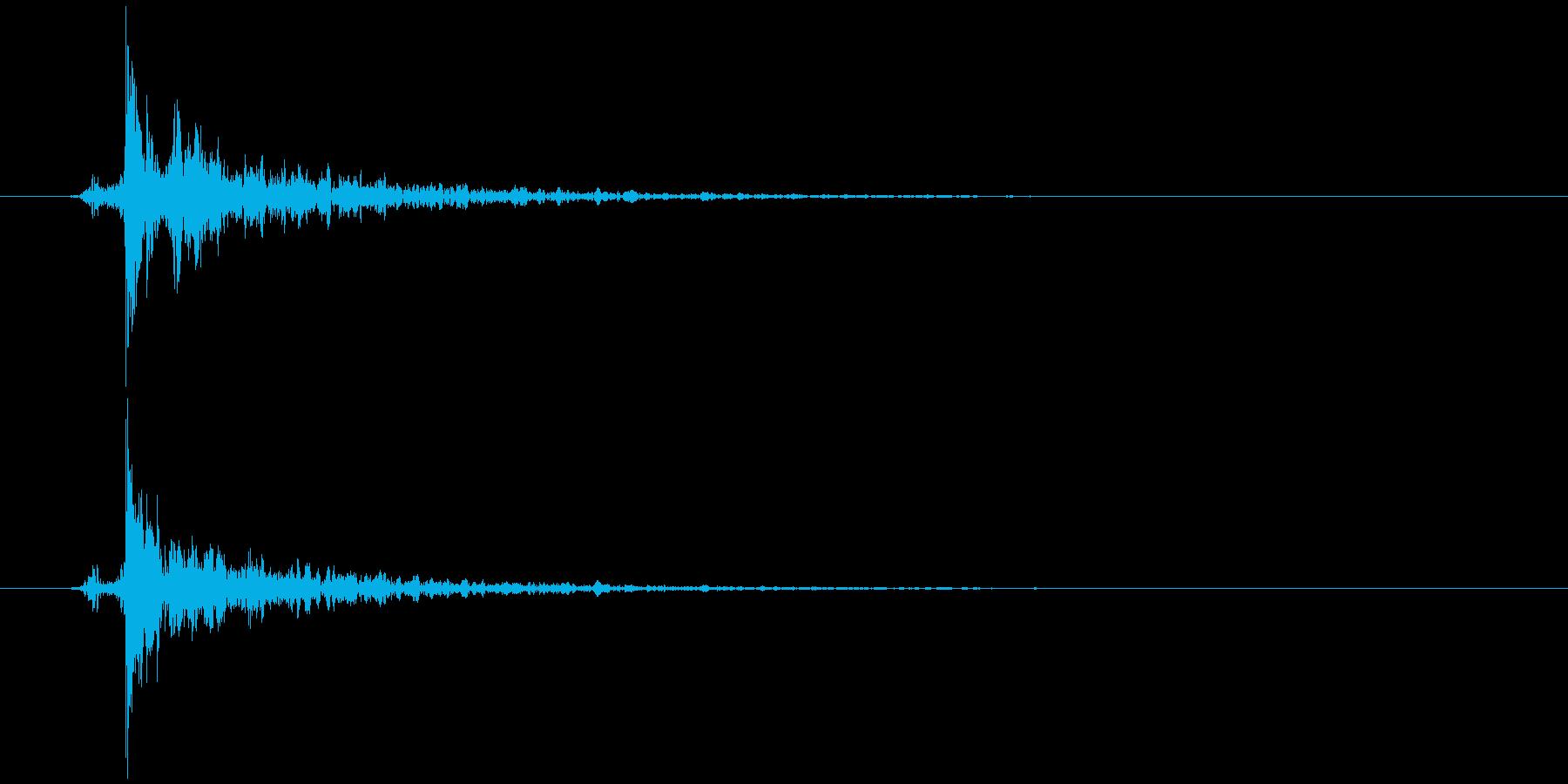 指パッチン(フィンガースナップE)生音2の再生済みの波形