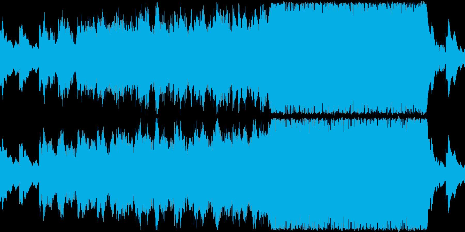 大航海をイメージしたEPICオーケストラの再生済みの波形