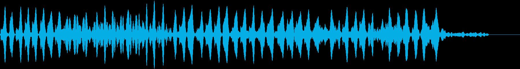 Animal 秋の虫の鳴き声 教育絵本にの再生済みの波形