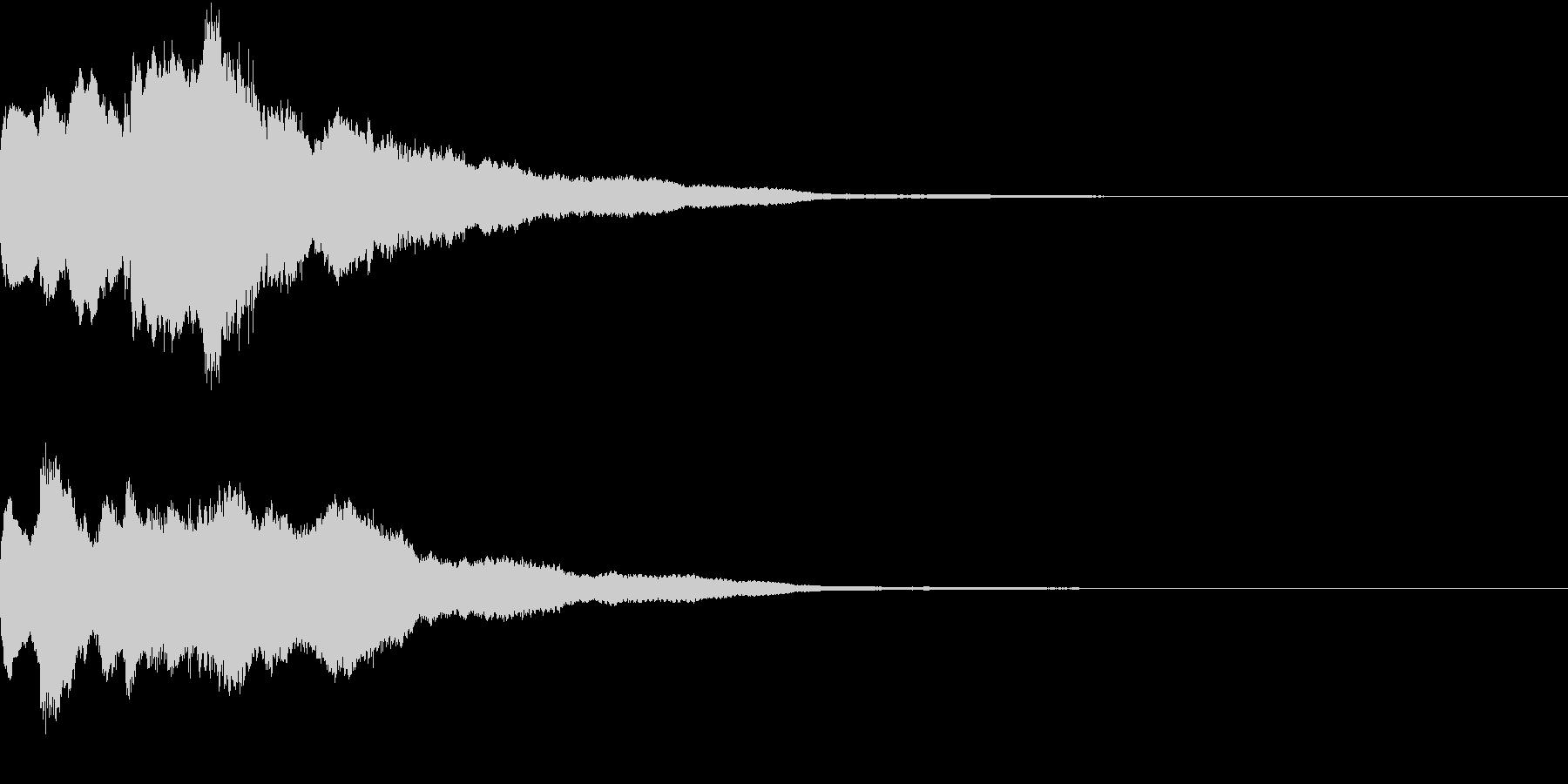 クリスマス ジングルベル キラキラ 11の未再生の波形