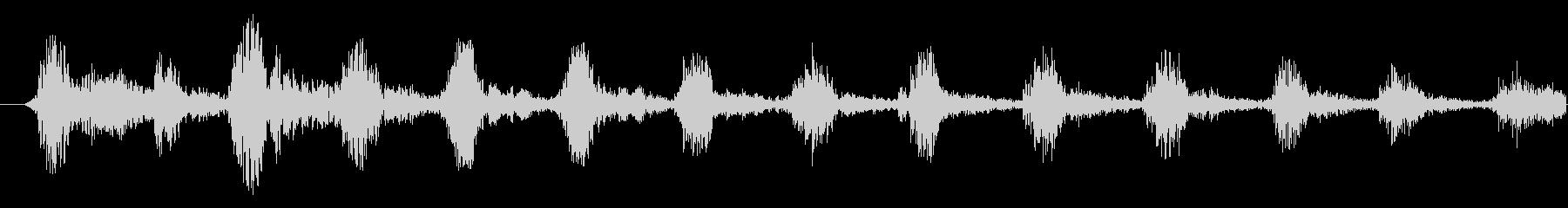 【ホラー/悪魔/声/ガハハハ/BOSS】の未再生の波形