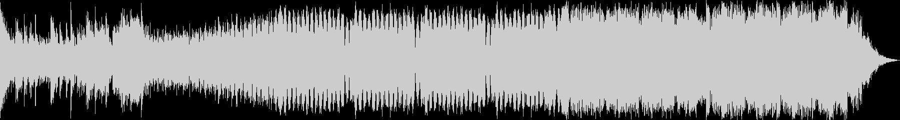 壮大でパワフルなピアノEDMの未再生の波形