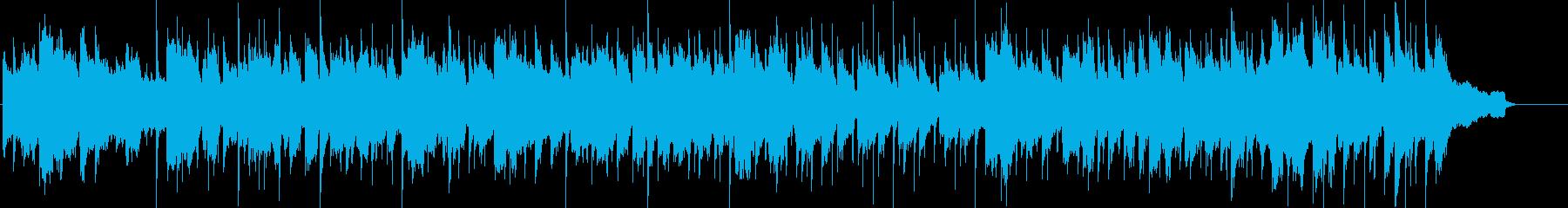 休日をのんびりと過ごすイメージのBGMの再生済みの波形