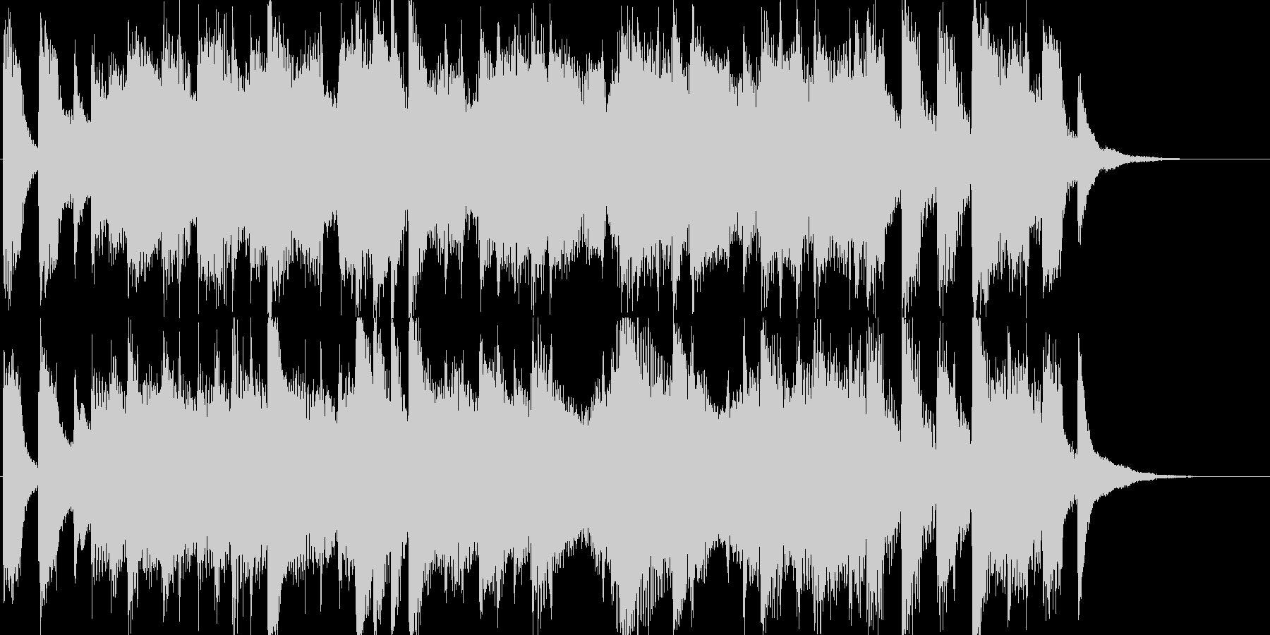 OP、ピアノ、出囃子の未再生の波形
