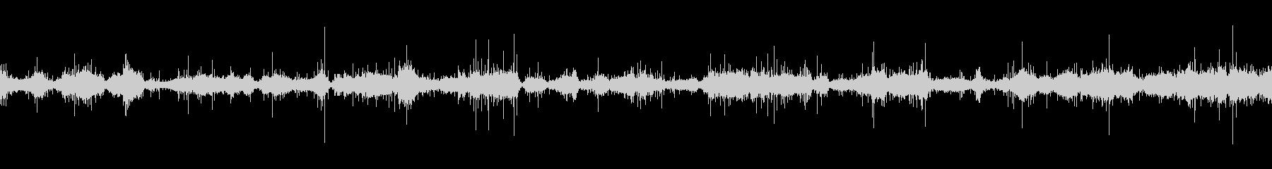 ムードノイズ(環境音)「サラサラ…」3の未再生の波形