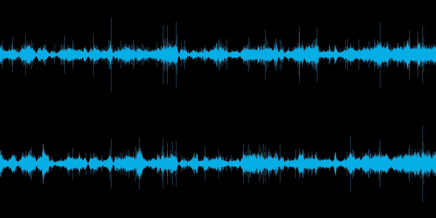 ムードノイズ(環境音)「サラサラ…」3の再生済みの波形