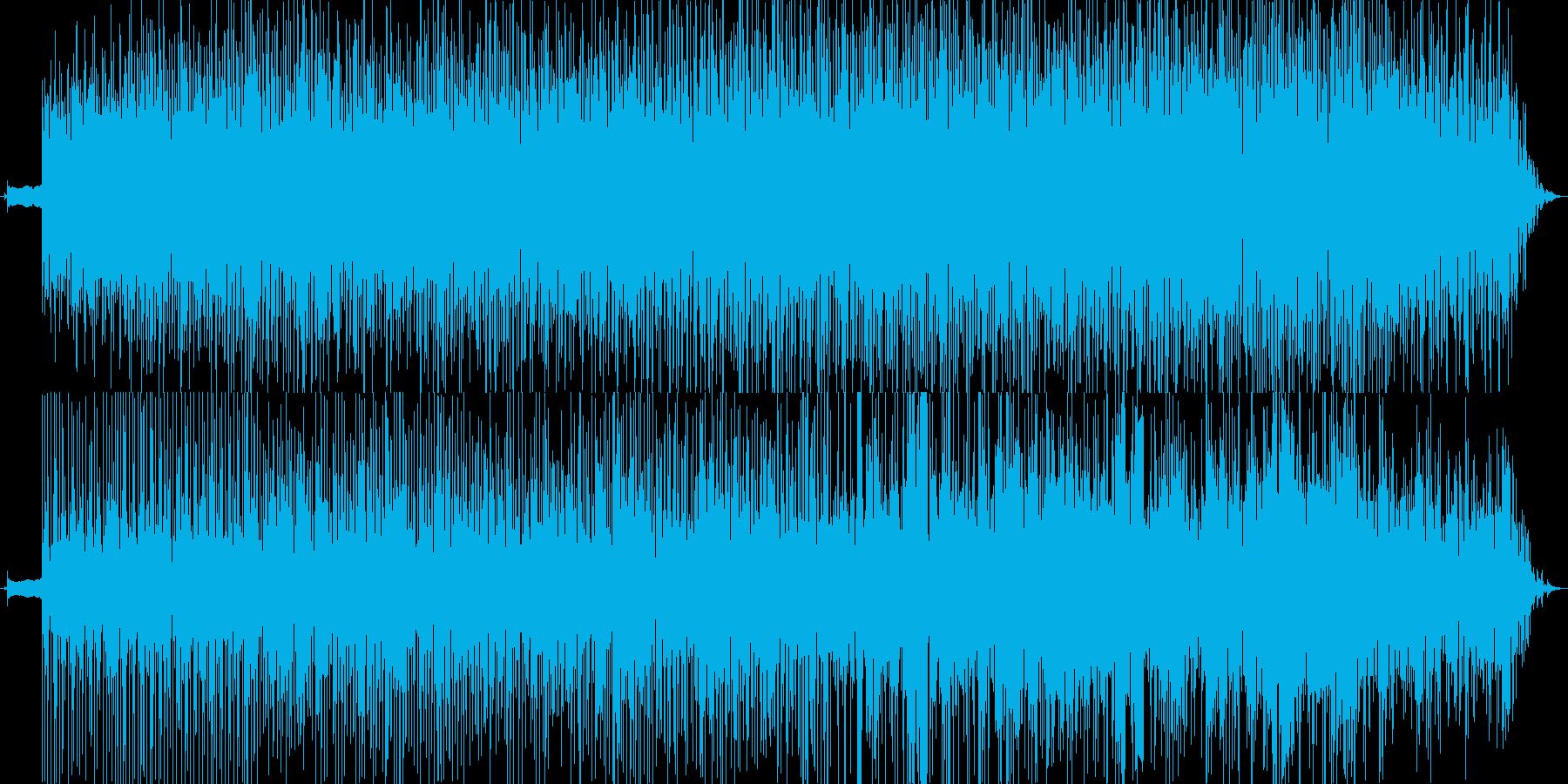 ワンコードのみのトロピカル・アコーステ…の再生済みの波形