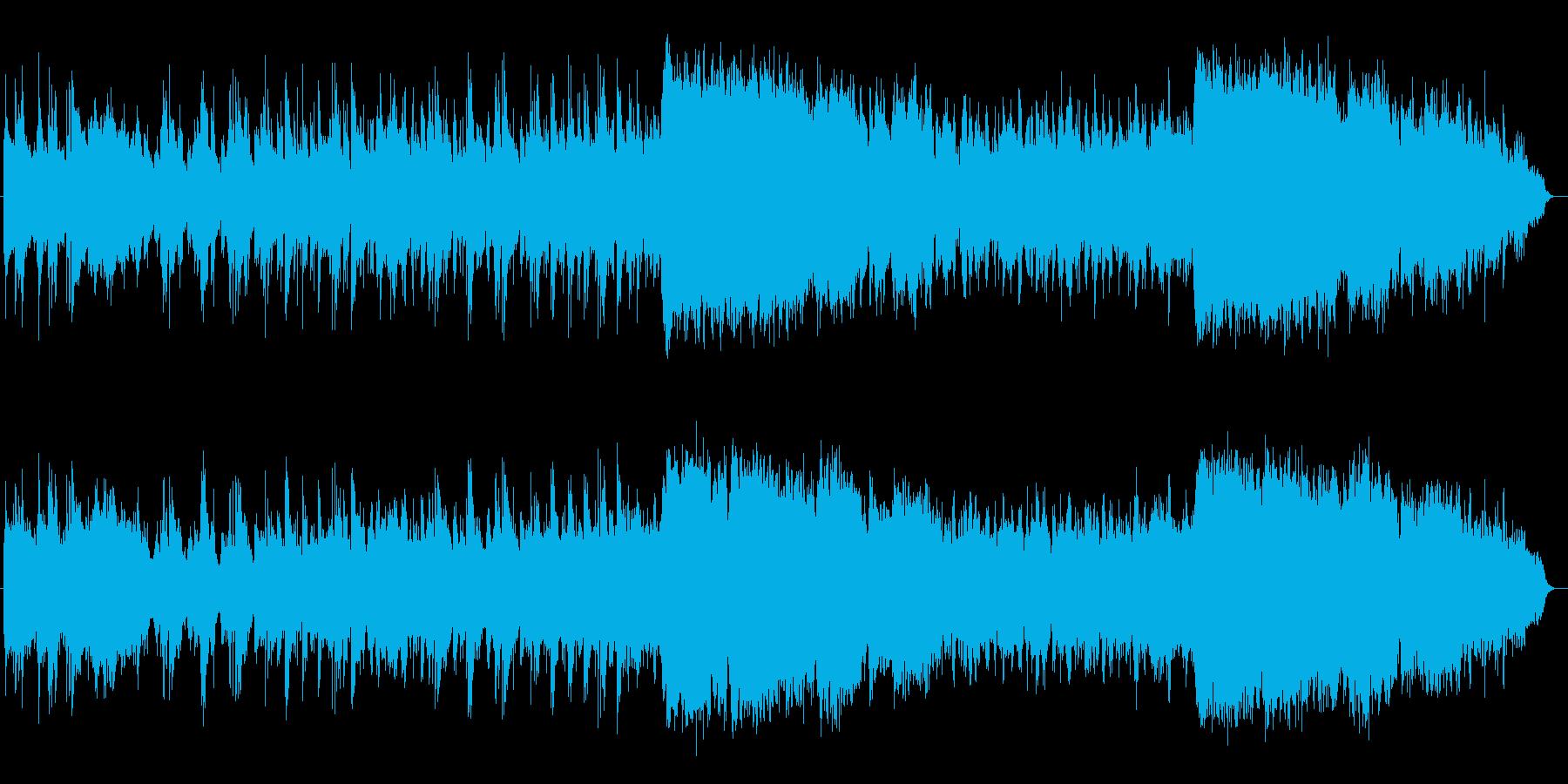 感動的なシンセ・ピアノ・管楽器などの再生済みの波形