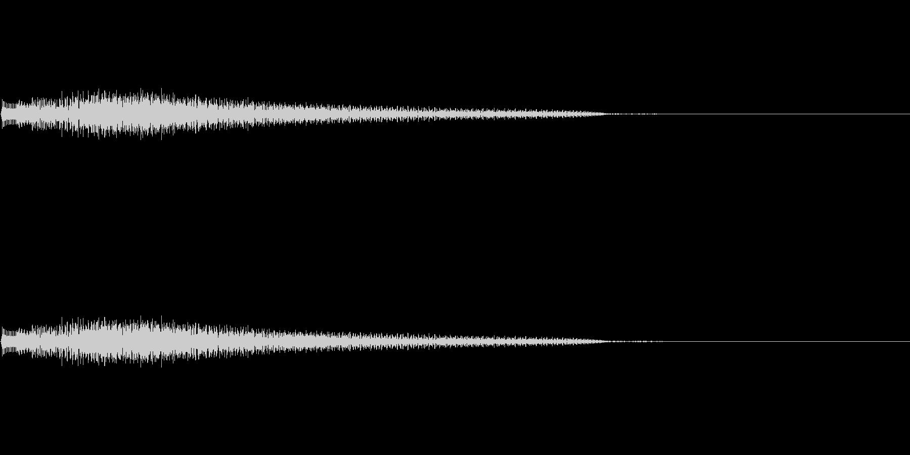 ポロローン(癒し、リラックス、回復)01の未再生の波形