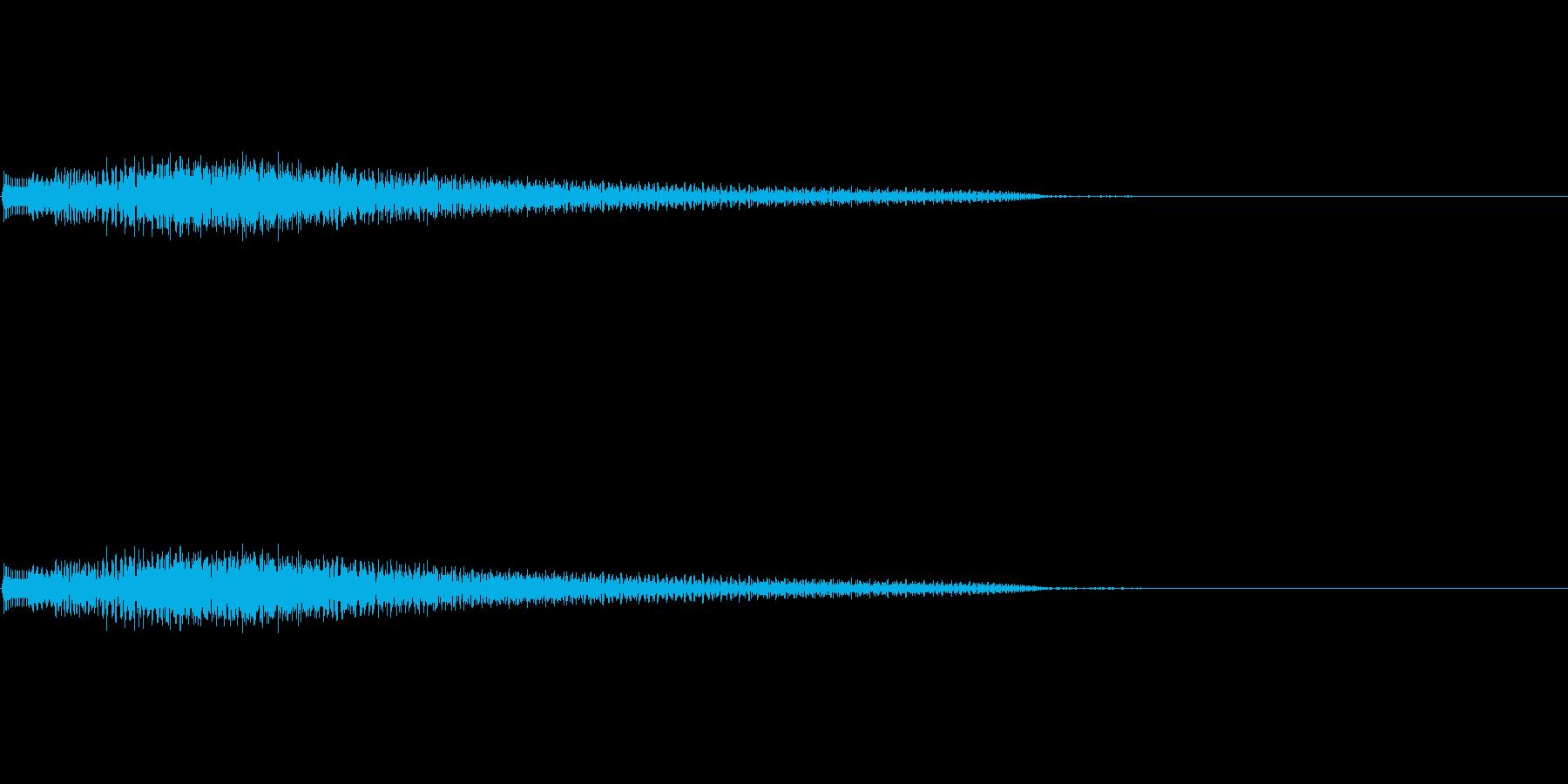 ポロローン(癒し、リラックス、回復)01の再生済みの波形