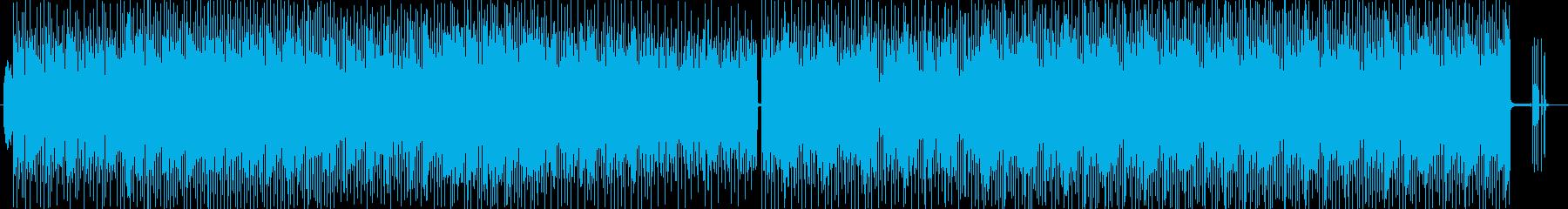 ファンタジーなシンセサウンドポップの再生済みの波形