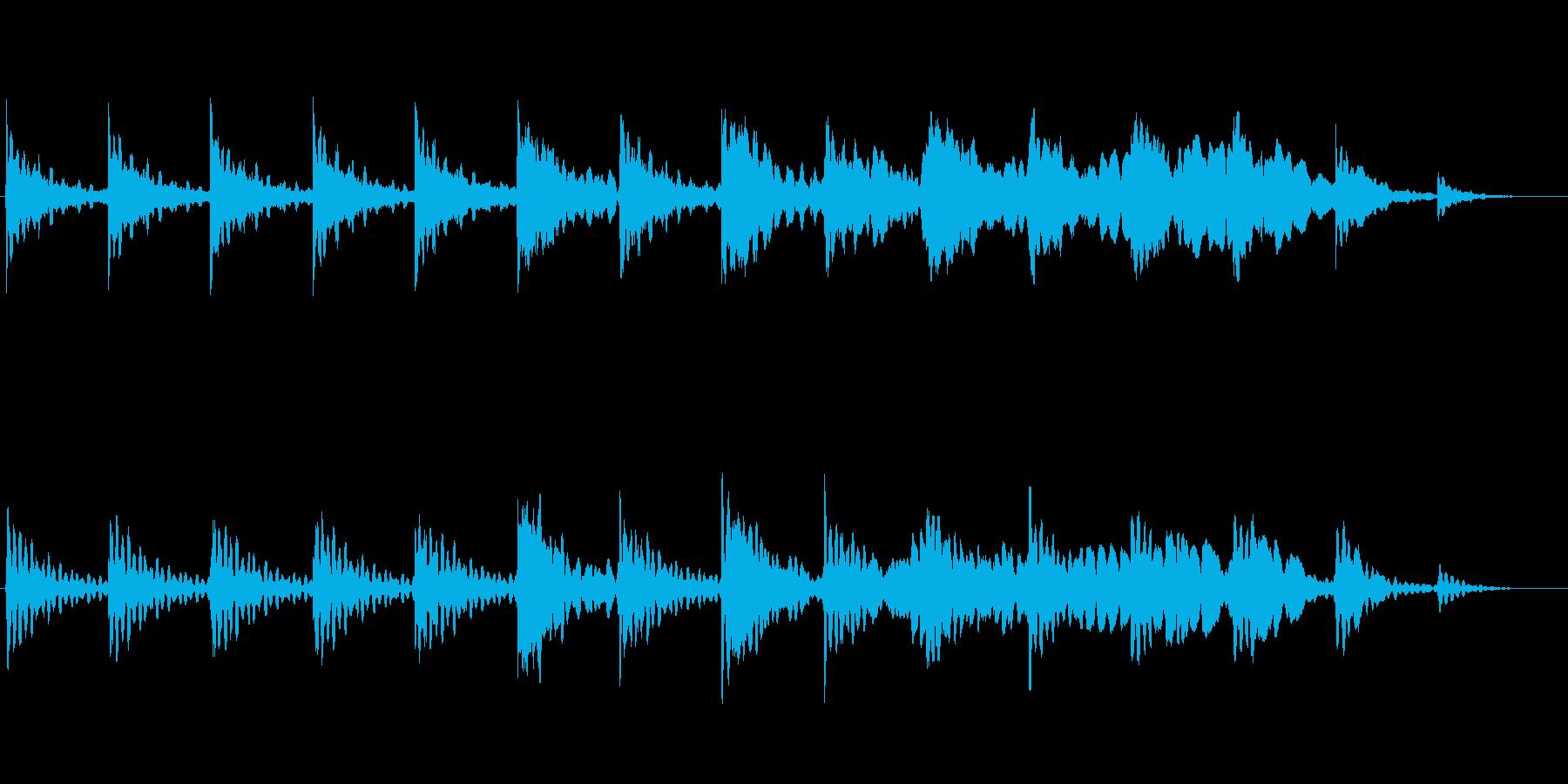 ヨガ・瞑想 01の再生済みの波形